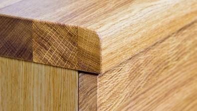 Dřevěná komoda z masivu PALERMO, Materiál: Masiv Dub, Odstín: Olej BIOFA Transparent #08