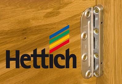 Značkové kování Hettich