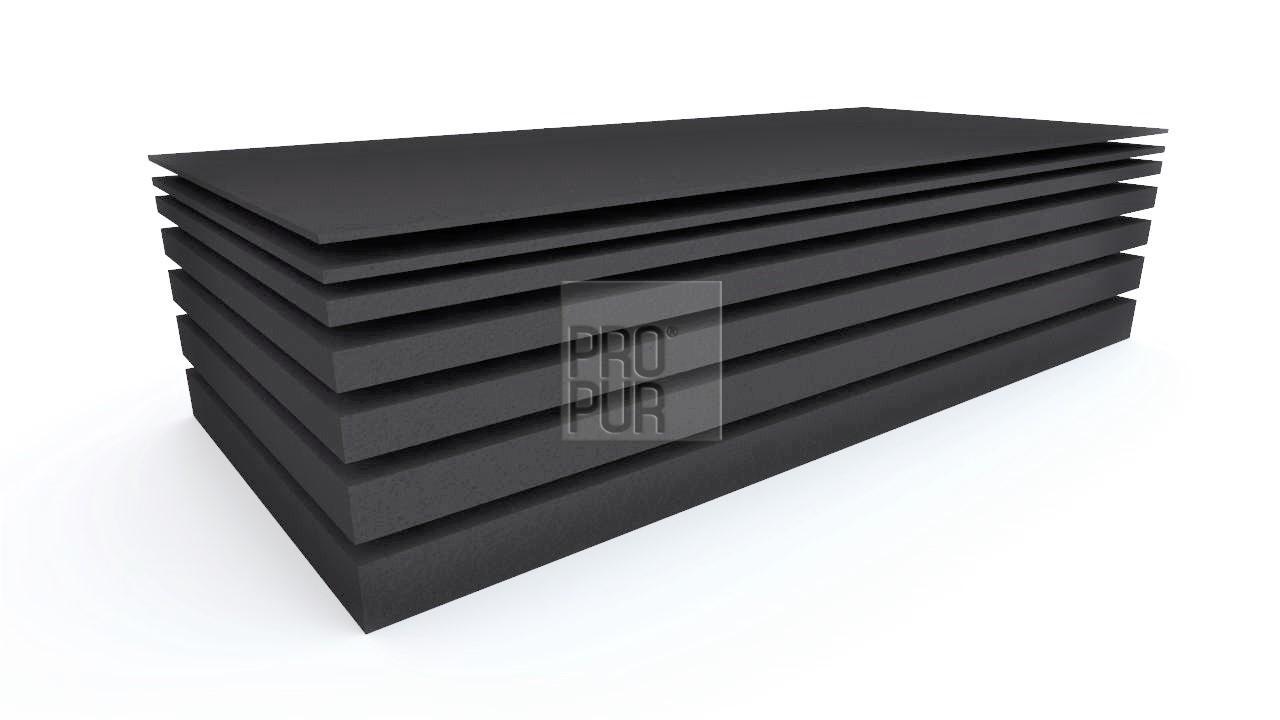 ProPur Molitanová deska PUR pěna VP2540, 200x100x1 cm