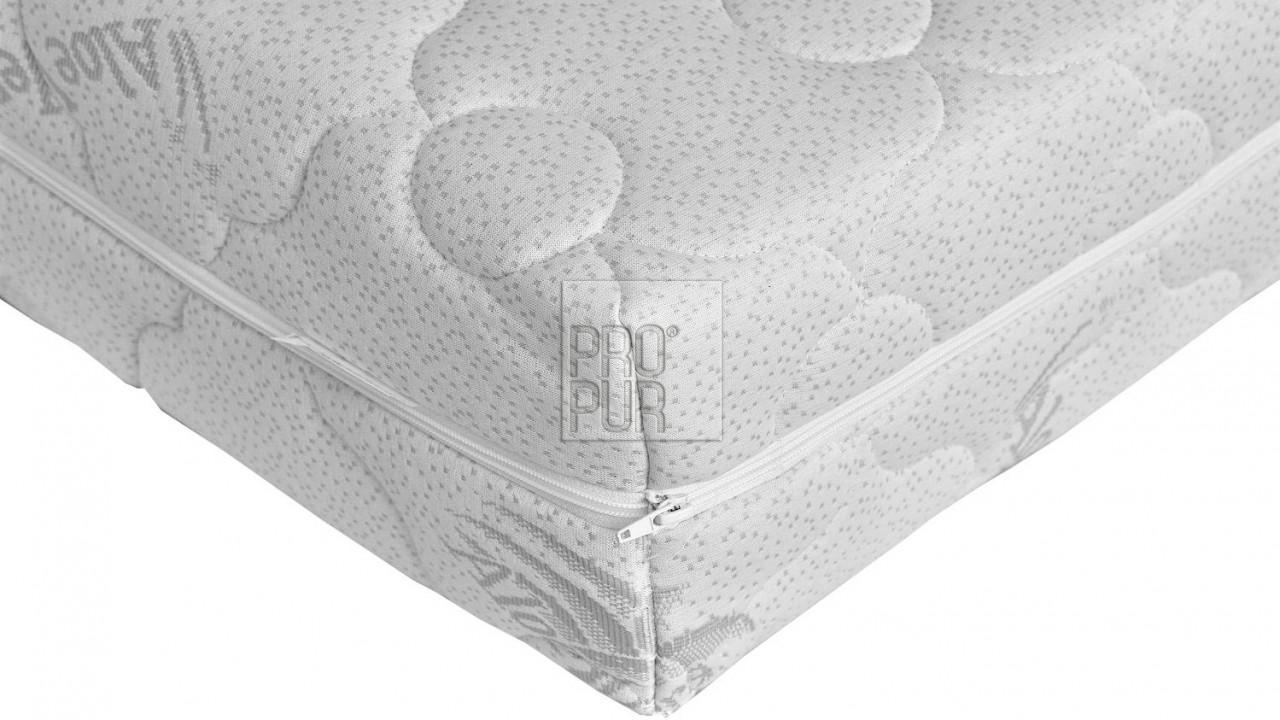 Potah na matraci ALOE VERA prošitý
