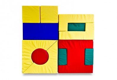 Molitanová stavebnice sada hraček 12 dílů, šíře 10 cm