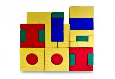 Molitanová stavebnice sada hraček 24 dílů, šíře 10 cm