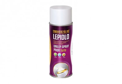 Lepidlo na molitan UNILEP SPRAY PROFI FORTE 400ml