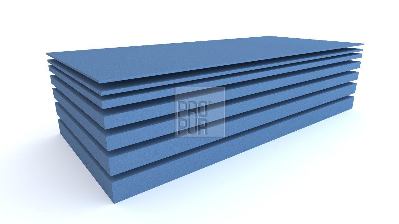ProPur Molitanová deska HR3536 200x90x1 cm