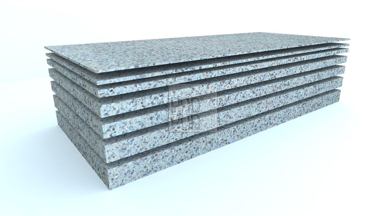 ProPur Molitanová deska RE130 200x90x1 cm