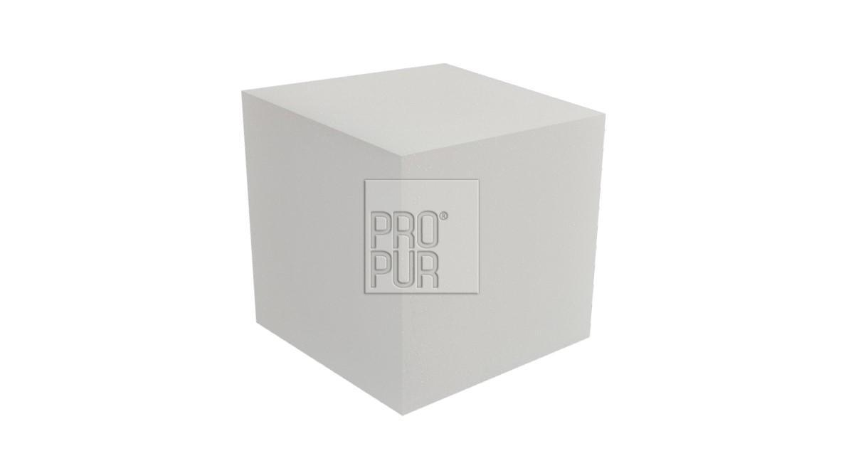 ProPur Molitanová kostka 15 x 15 x 15 cm, bílá