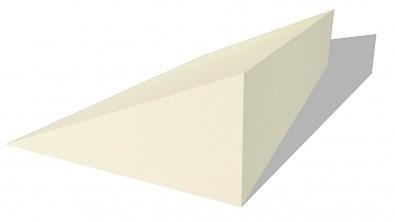 Molitanový klín 90x50x20 cm