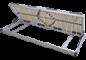 Lamelové rošty s bočním výklopem pro ukládání do úložného prostoru.