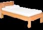 Jednolůžkové postele z masivu