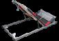 Lamelové rošty polohovací s nožním výklopem pro ukládání do úložného prostoru.